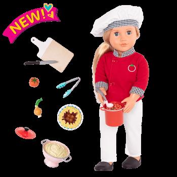 18-inch Chef Doll Chiara