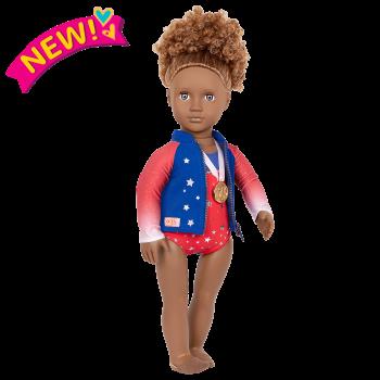 Athletic Team Series 18-inch Gymnastics Doll Nya