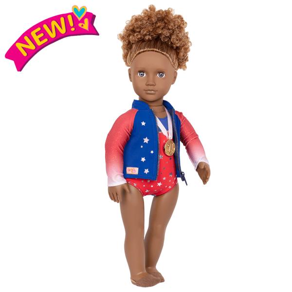 Athletic Team Series 18-inch Gymnastics Doll Nya