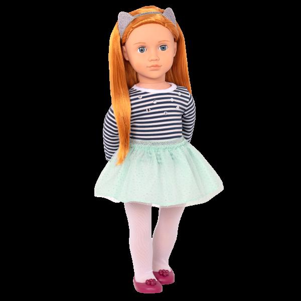 Arlee 18-inch Doll Red Hair Blue Eyes
