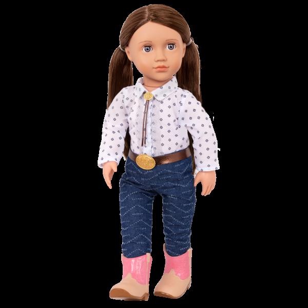 Darcy-Lynn 18-inch Riding Doll