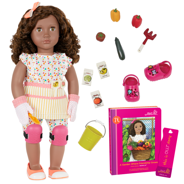 Nahla Posable 18-inch Doll