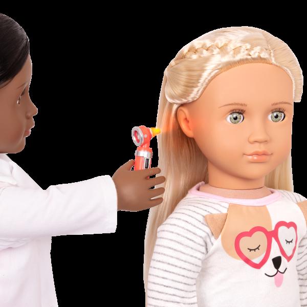 Meagann Doctor doll light up otoscope