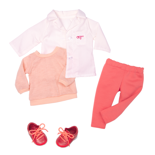 Meagann doll doctor outfit