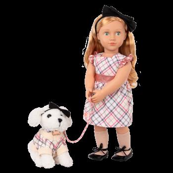 Our Generation 18-inch Doll Callista & Pet Dog Plush Styles