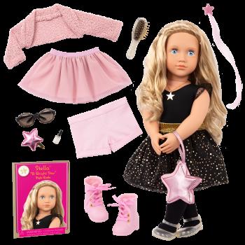 Our Generation Fashion Starter Kit & 18-inch Doll Stella