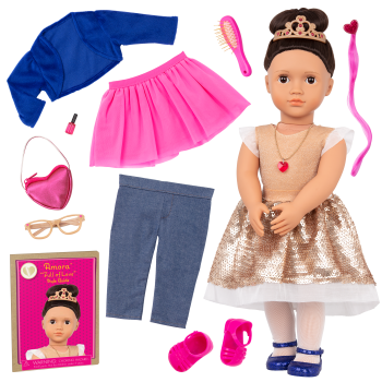 Our Generation Fashion Starter Kit & 18-inch Doll Amora
