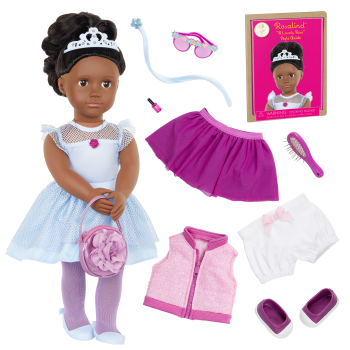 Our Generation Fashion Starter Kit & 18-inch Doll Rosalind