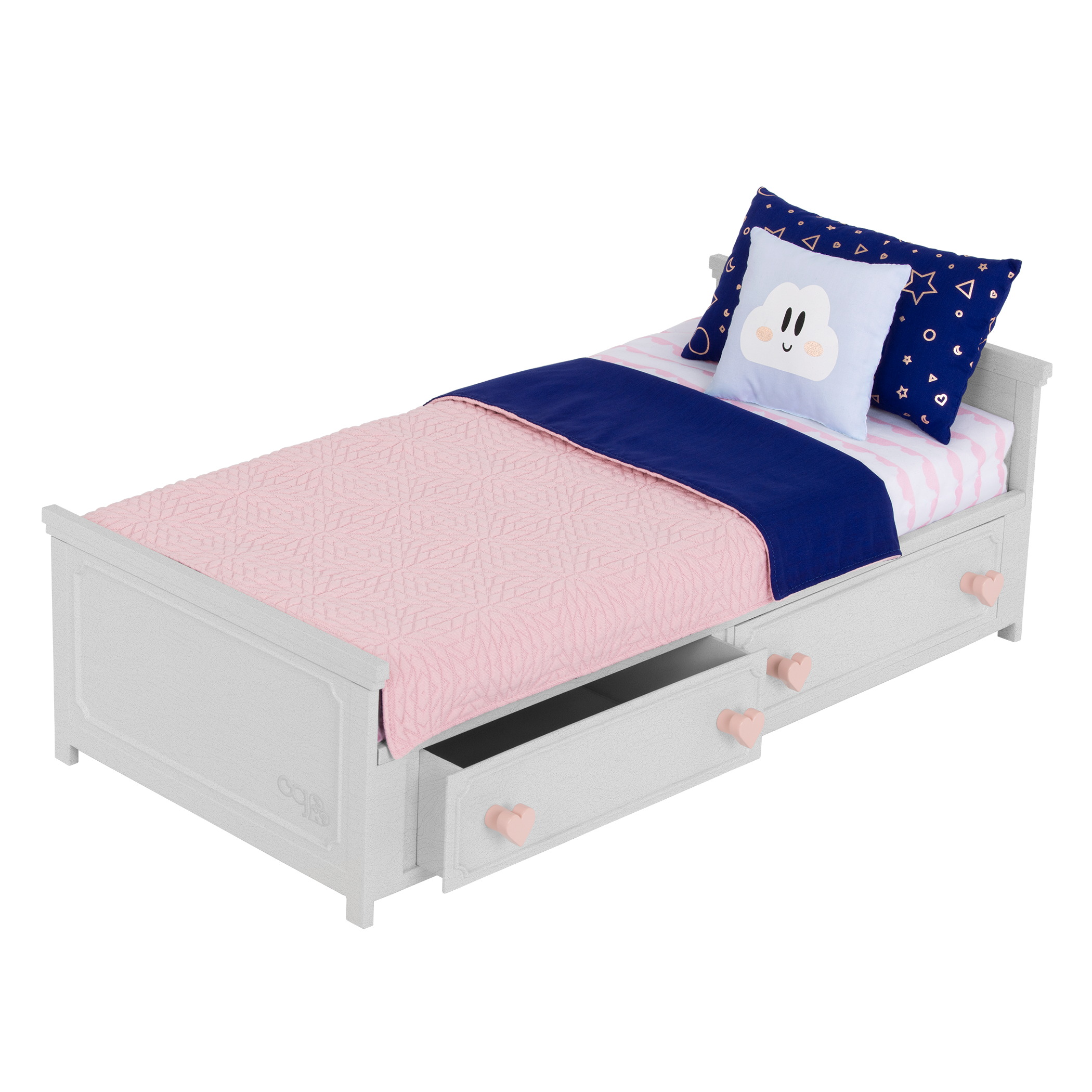 Our Generation Starry Slumbers Platform Bed for 18-inch Dolls