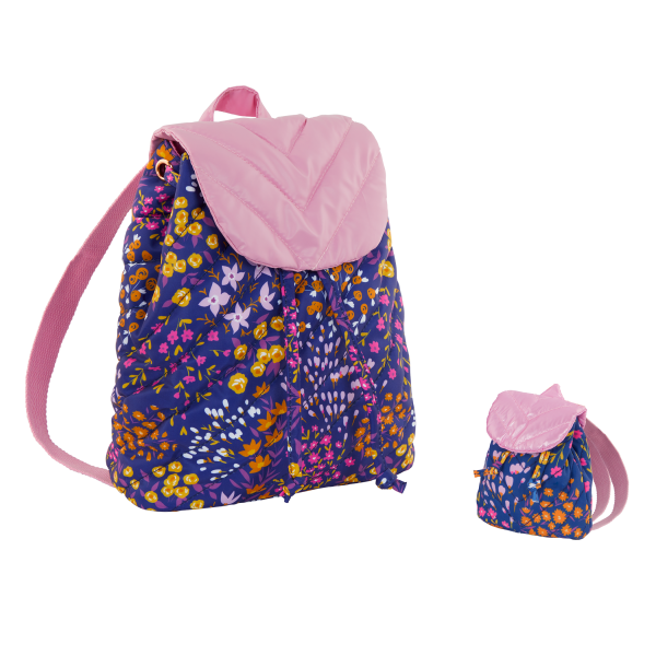 Our Generation Me & You Matching Floral Backpacks