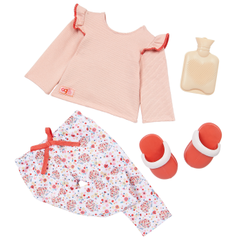 Our Generation Hedgehugs Pajama Outfit for 18-inch Dolls