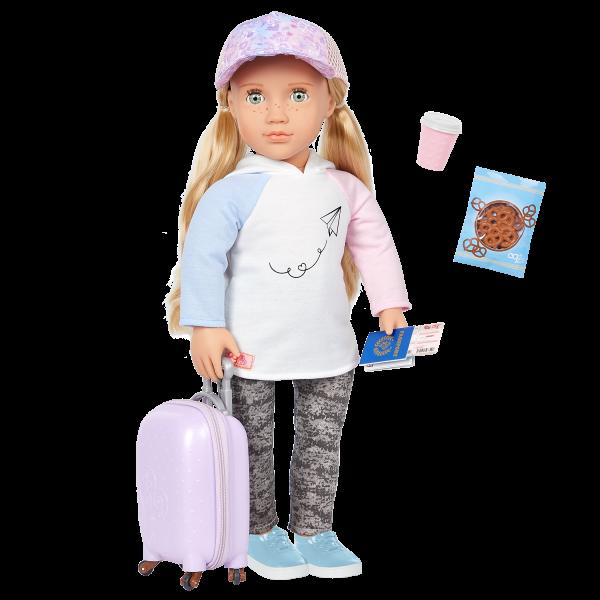 Our Generation 18-inch Travel Doll Ari