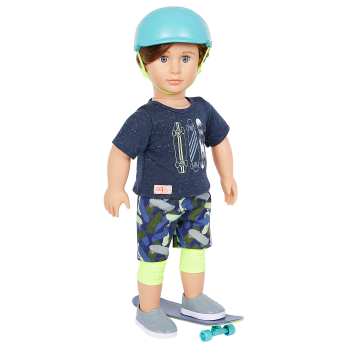 Our Generation 18-inch Skateboarder Doll Theodore