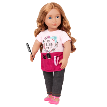 Our Generation 18-inch Hairdresser Doll Sabrina