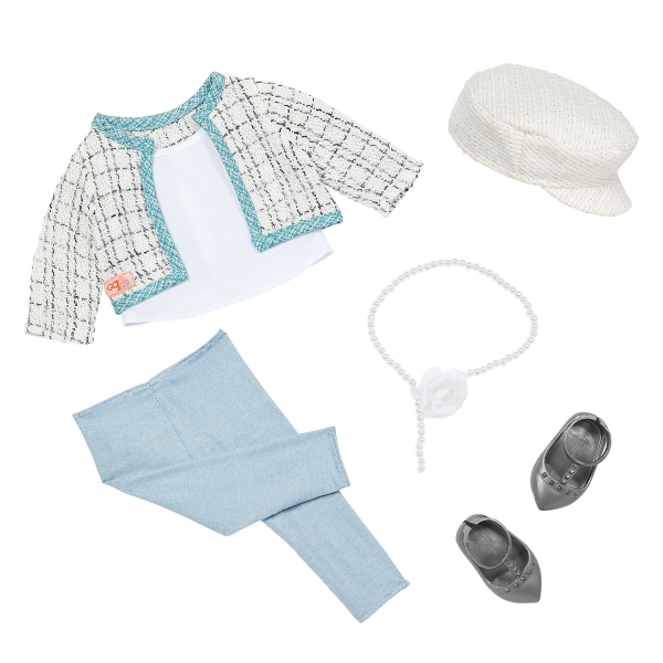 Our Generation 18-inch Fashion Doll Lysie Tweed Outfit