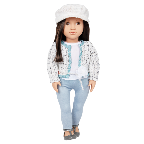 Our Generation 18-inch Fashion Doll Lysie Brown Hair & Eyes