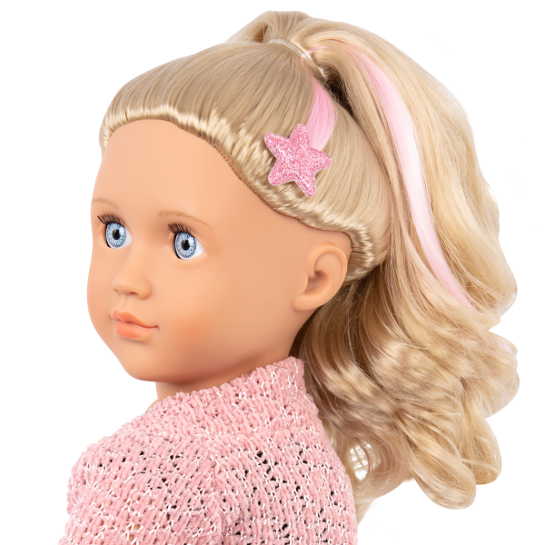 Our Generation Fashion Starter Kit & 18-inch Doll Stella Hair Extension