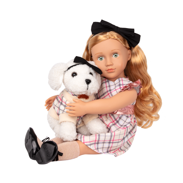 Our Generation 18-inch Doll Callista Red Hair Green Eyes