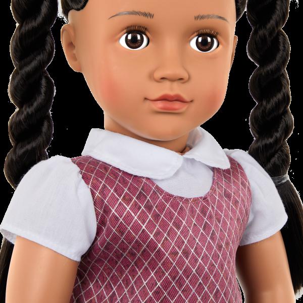 Our Generation 18-inch School Doll Frederika Brown Hair