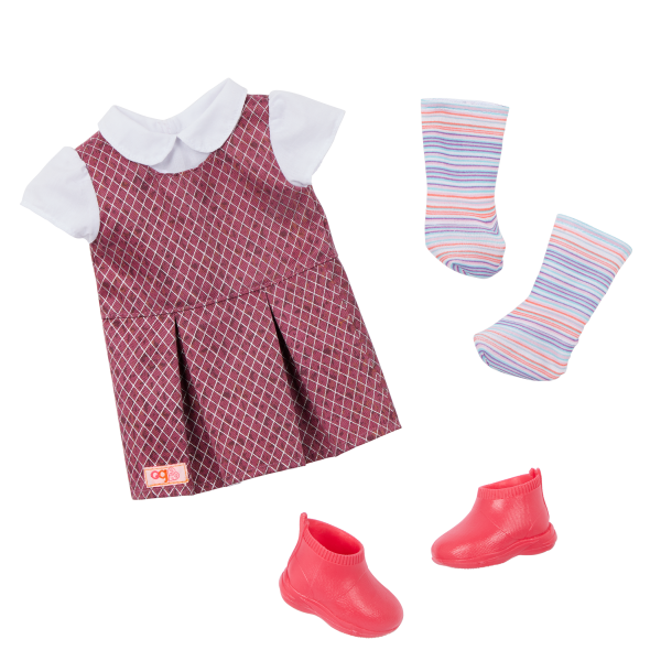 Our Generation 18-inch Doll Frederika School Outfit