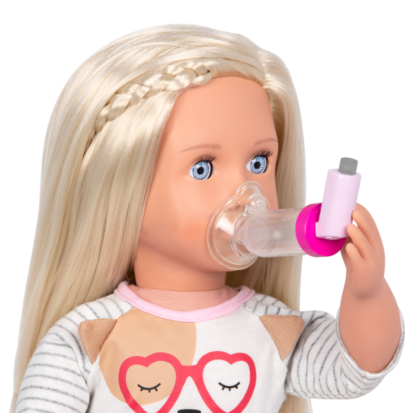 Our Generation Asthma Pump & Allergy Relief Care Set for 18-inch Dolls