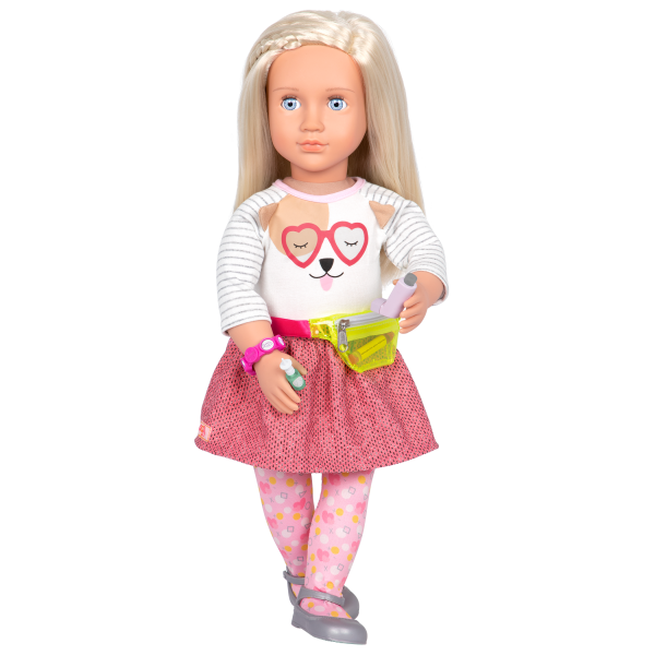 Our Generation Asthma & Allergy Relief Care Set with Fanny Pack for 18-inch Dolls