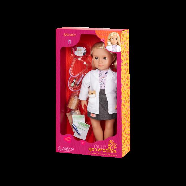 Our Generation 18-inch Vet Doll Noemie Packaging