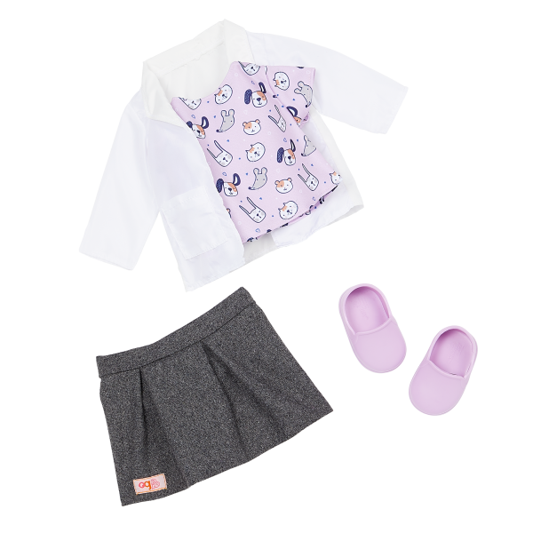 Our Generation 18-inch Doll Noemie Vet Outfit