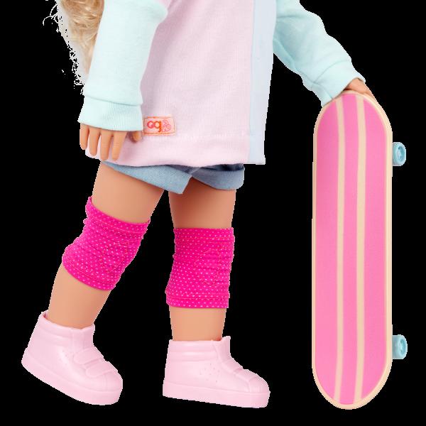 Our Generation 18-inch Doll Yanika Skateboard Accessory