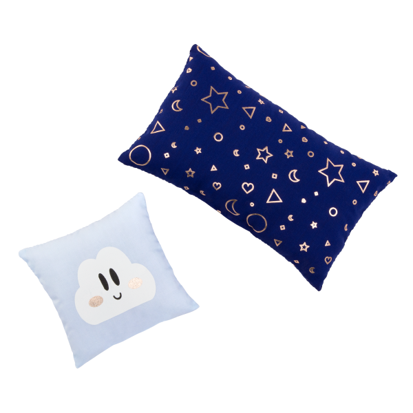 Our Generation Starry Slumbers Platform Bed Pillow Accessories