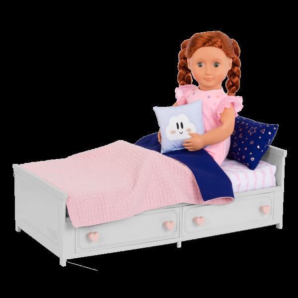 Our Generation Starry Slumbers Platform Bed Furniture Set