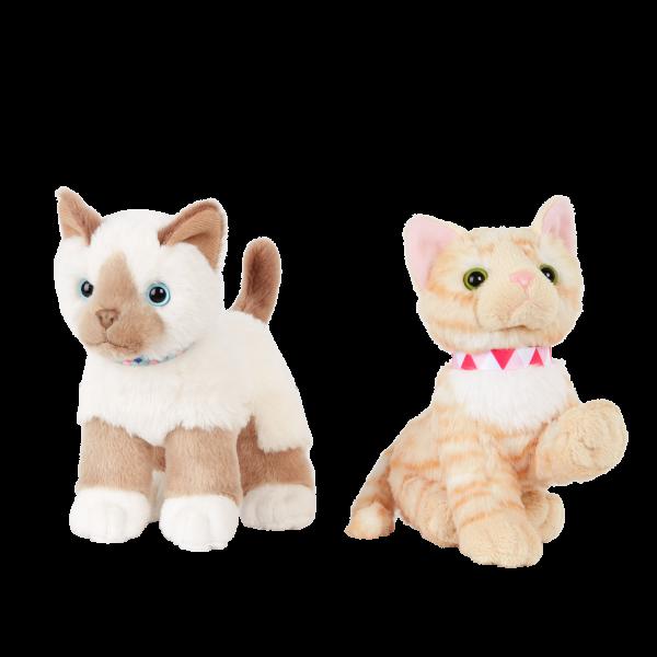 Our Generation 6-inch American Shorthair Kitten & Birman Cat Plush