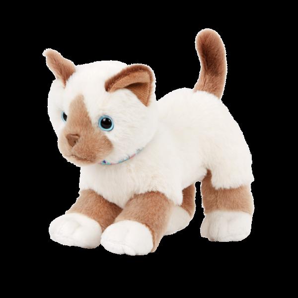 Our Generation 6-inch Birman Kitten Cat Plush White Fur