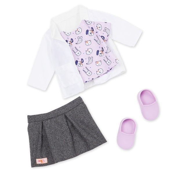 Our Generation 18-inch Doll Daya Vet Outfit