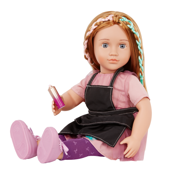 Our Generation 18-inch Posable Hairdresser Doll Drew