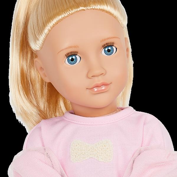 Our Generation 18-inch Fashion Doll Reid Blonde Hair Blue Eyes