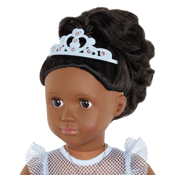 Our Generation Fashion Starter Kit & 18-inch Doll Rosalind Brown Hair