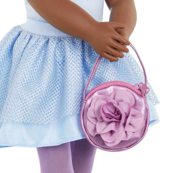 Our Generation Fashion Starter Kit & 18-inch Doll Rosalind Rose Purse