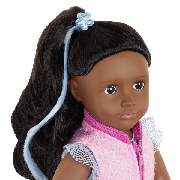 Our Generation Fashion Starter Kit & 18-inch Doll Rosalind Hair Extension