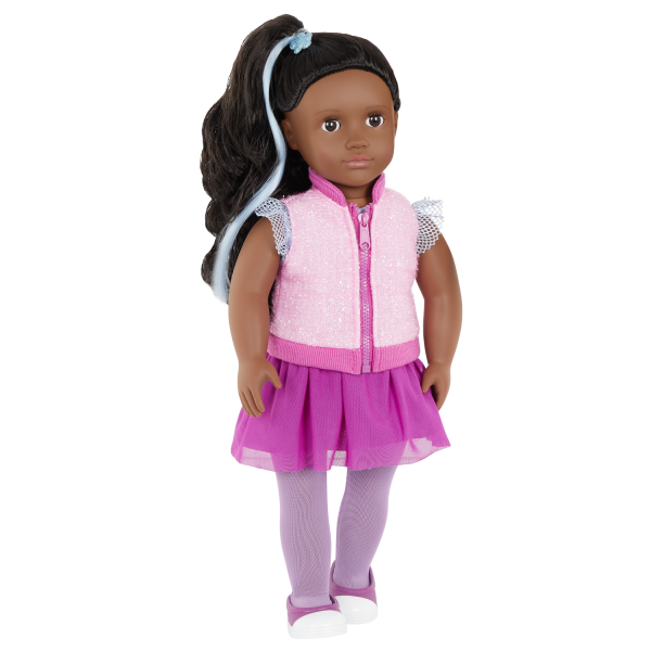 Our Generation Fashion Starter Kit & 18-inch Doll Rosalind Changeable Outfits