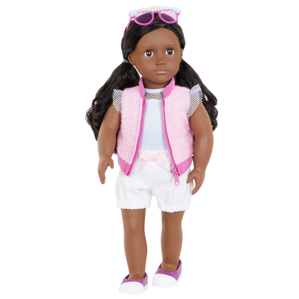 Our Generation Fashion Starter Kit & 18-inch Doll Rosalind Vest Outfit