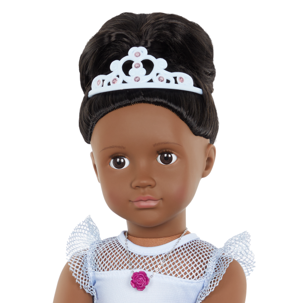 Our Generation Fashion Starter Kit & 18-inch Doll Rosalind Tiara Accessory