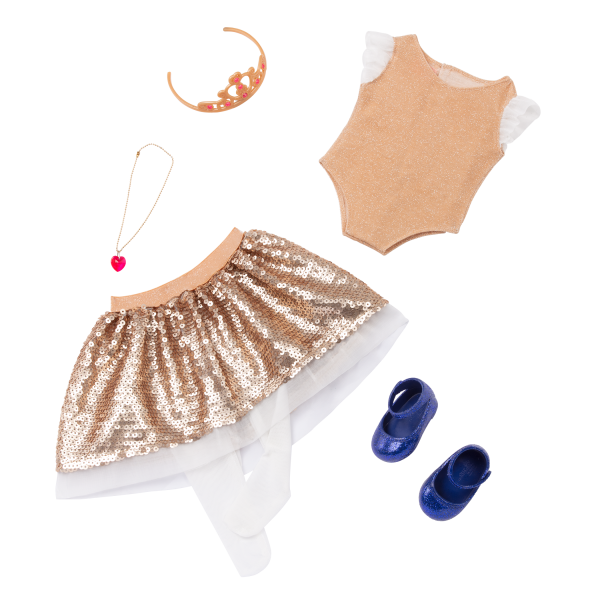 Our Generation Fashion Starter Kit & 18-inch Doll Amora Dress Outfit