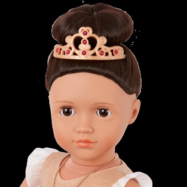 Our Generation Fashion Starter Kit & 18-inch Doll Amora Tiara Accessory