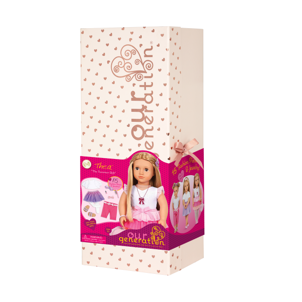 Our Generation 18-inch Fashion Doll Thea Gift Box Packaging