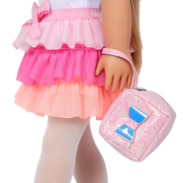 Our Generation 18-inch Fashion Doll Thea Bow Charm Purse Accessory