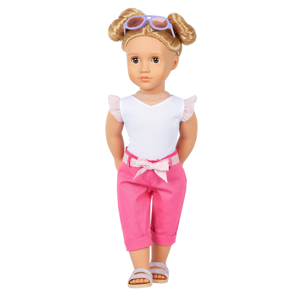 Our Generation 18-inch Fashion Doll Thea Shorts Outfit