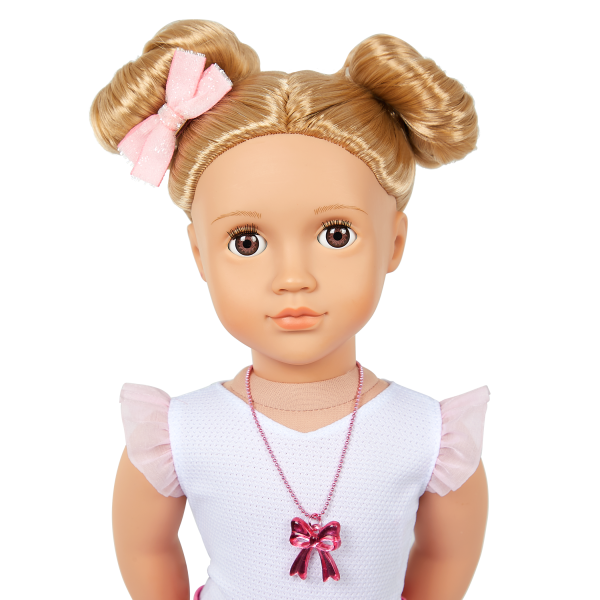Our Generation 18-inch Fashion Doll Thea Blonde Hair Brown Eyes