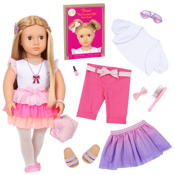 Our Generation Fashion Starter Kit & 18-inch Doll Thea
