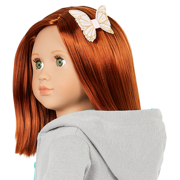Our Generation 18-inch Fashion Doll Cambi Butterfly Hair Clip Accessory